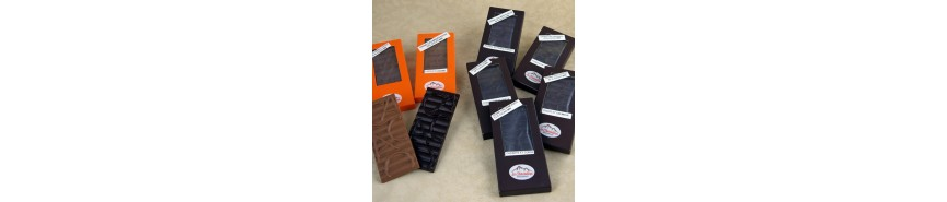 Tablettes et mini-tablettes de chocolat