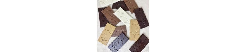 Tablettes et mini-tablettes de chocolat